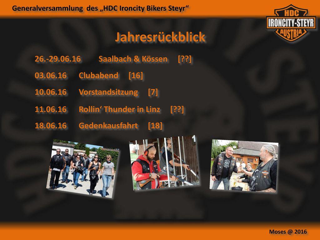 Jahresrückblick 26.-29.06.16 Saalbach & Kössen [ ]